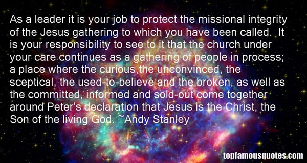 Quotes About Missional