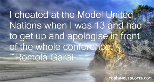 Quotes About Model United Nations