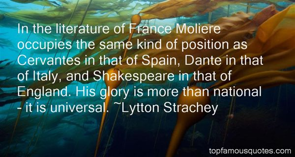Quotes About Moliere
