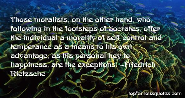 Quotes About Moralists