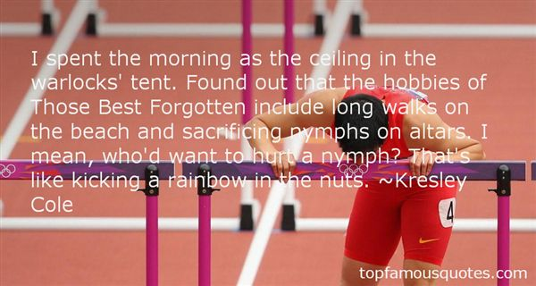 Quotes About Morning Walks