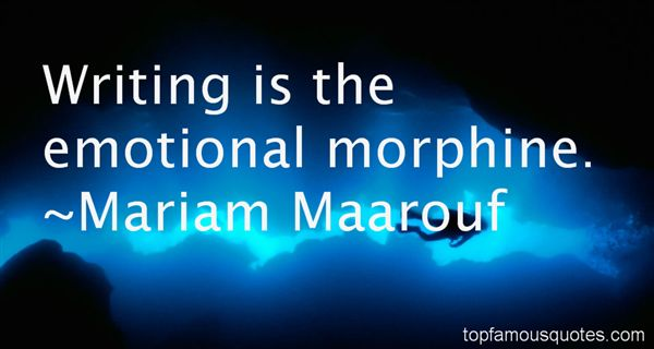 Quotes About Morphine