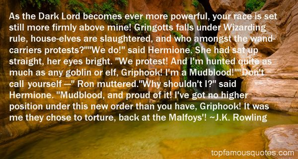 Quotes About Mudblood