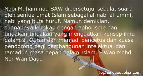 Quotes About Muhammad Saw