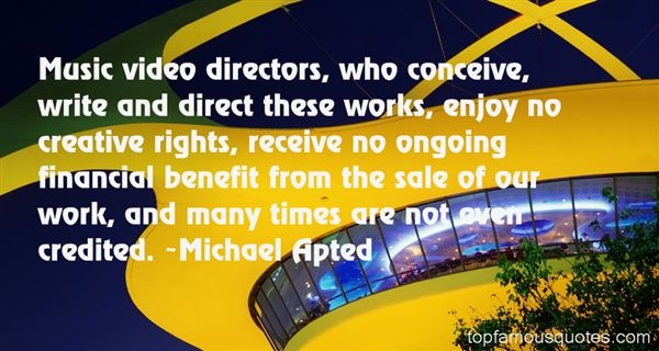 Quotes About Music Directors