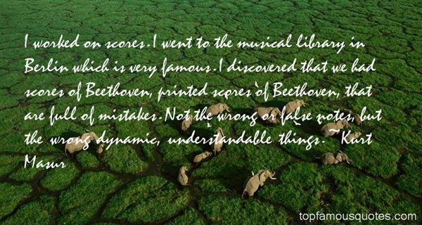 Quotes About Musical Notes