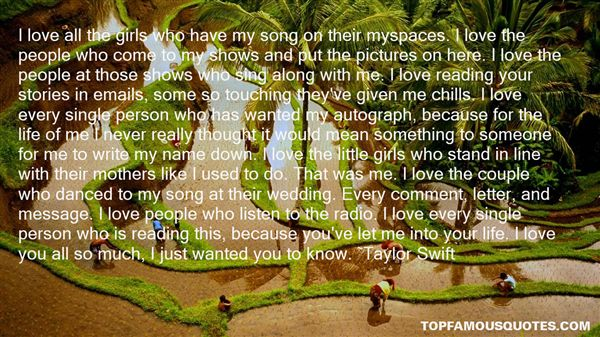 Quotes About Myspace Love