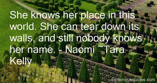 Quotes About Naomi