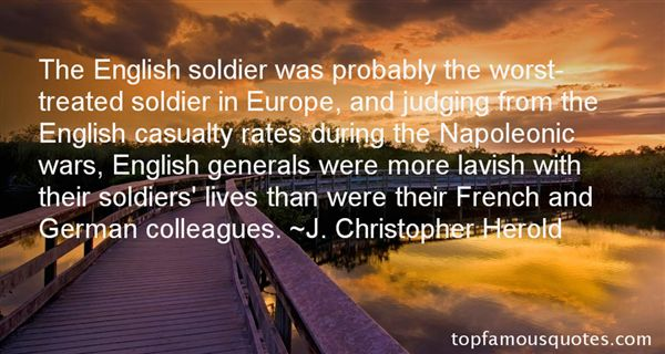 Quotes About Napoleonic