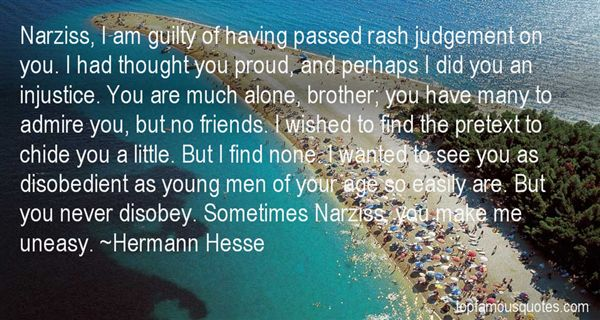 Quotes About Narziss