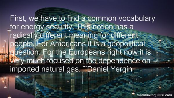 Quotes About Natural Gas