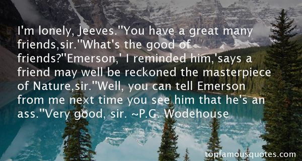 Quotes About Nature Emerson