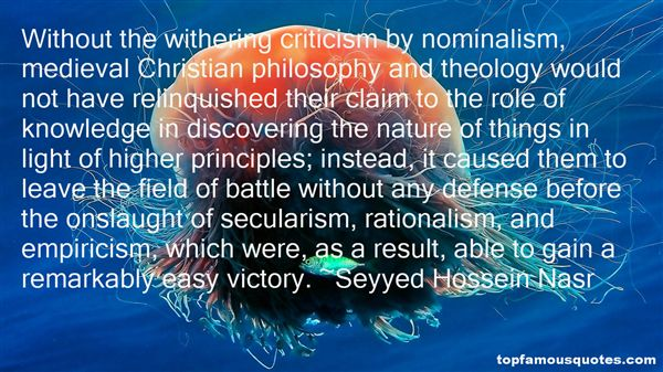 Quotes About Nominalism