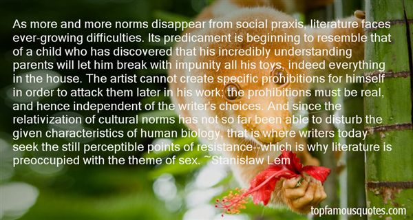Quotes About Norms