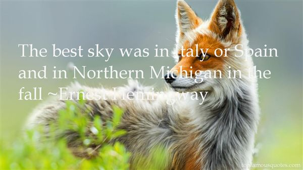 Quotes About Northern Michigan