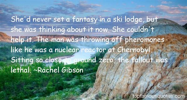 Quotes About Nuclear Fallout