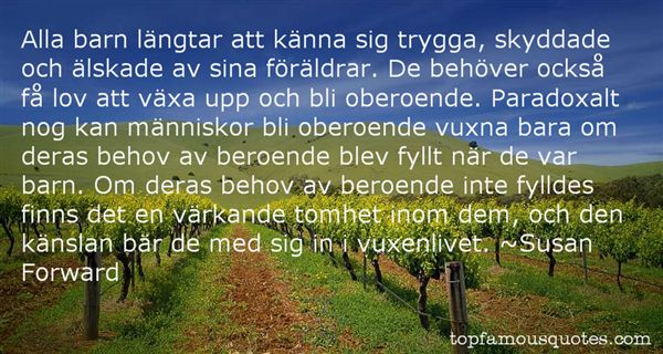 Quotes About Oberoende