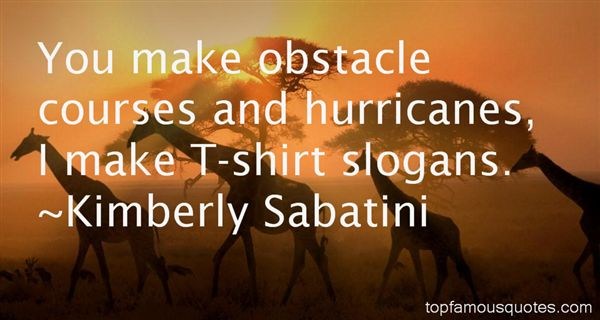Quotes About Obstacle Courses