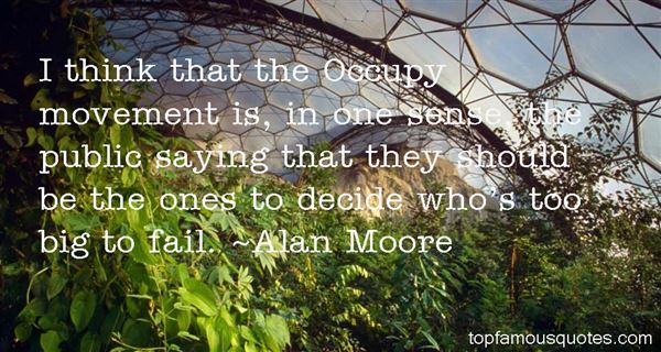Quotes About Occupy Movement
