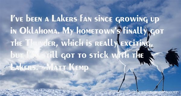 Quotes About Oklahoma Thunder