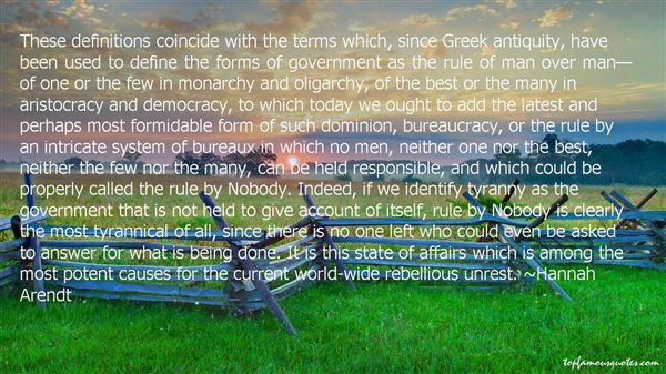 Quotes About Oligarchy