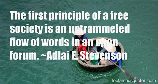 Quotes About Open Forum