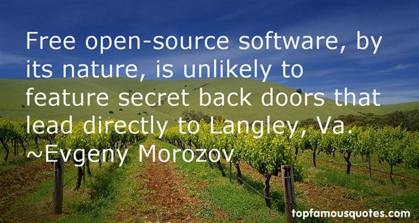Quotes About Open Source