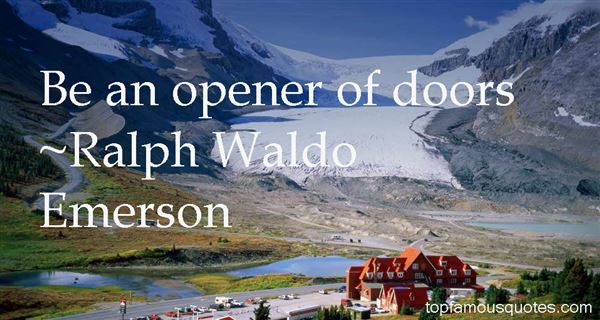 Quotes About Opener