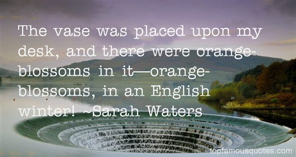Quotes About Orange Blossoms