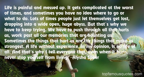Quotes About Painful Memories