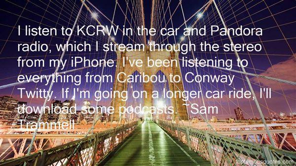 Quotes About Pandora Radio