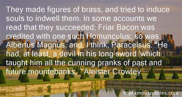 Quotes About Paracelsus