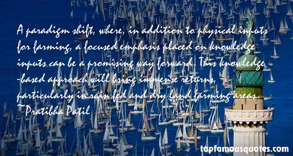 Quotes About Paradigm Shift