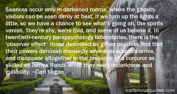 Quotes About Parapsychology