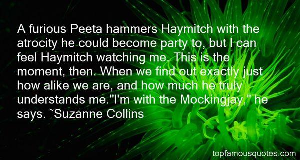 Quotes About Peeta In Mockingjay