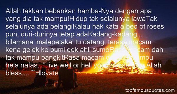 Quotes About Pelangi