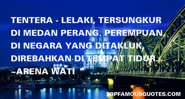 Quotes About Perang