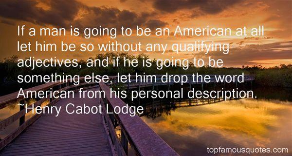 Quotes About Personal Description