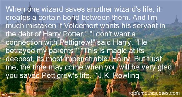 Quotes About Pettigrew