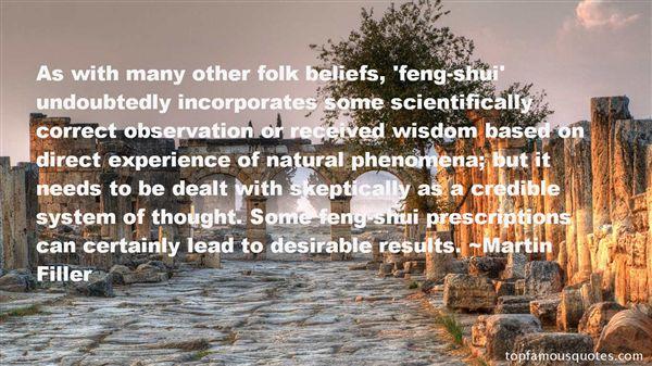Quotes About Phenomena
