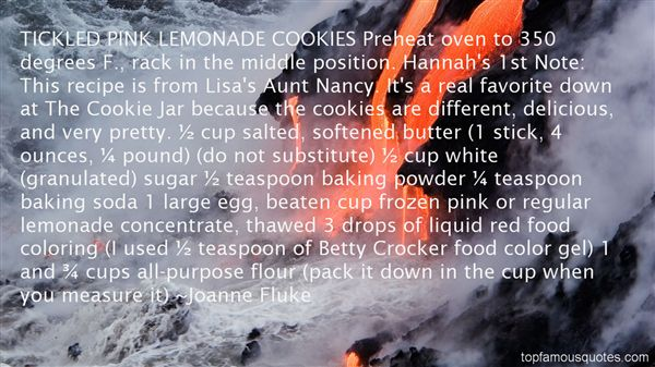 Quotes About Pink Lemonade
