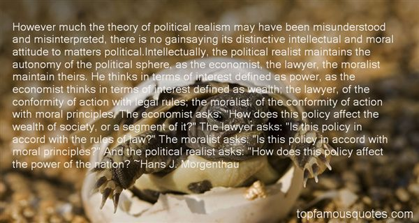 Quotes About Political Realism