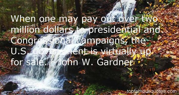 Quotes About Presidential Campaigns