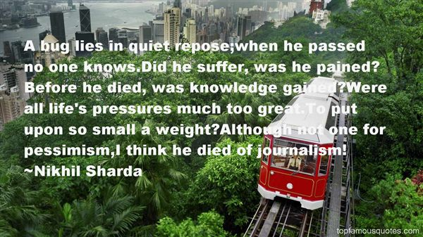 Quotes About Pressure