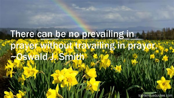 Quotes About Prevailing Prayer
