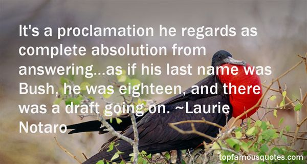 Quotes About Proclamation