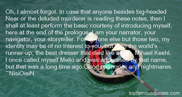 Quotes About Prologue