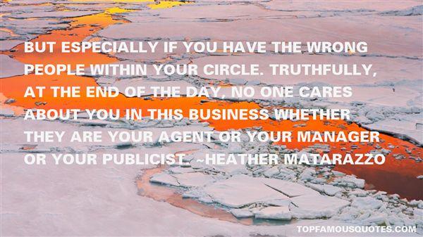 Quotes About Publicist