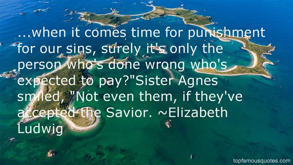 Quotes About Punishment For Sins