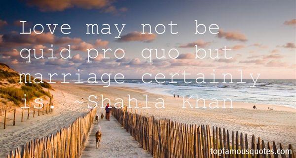 Quotes About Quid Pro Quo